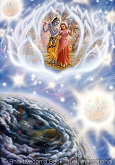 Three Spiritual Realms | Krishna.